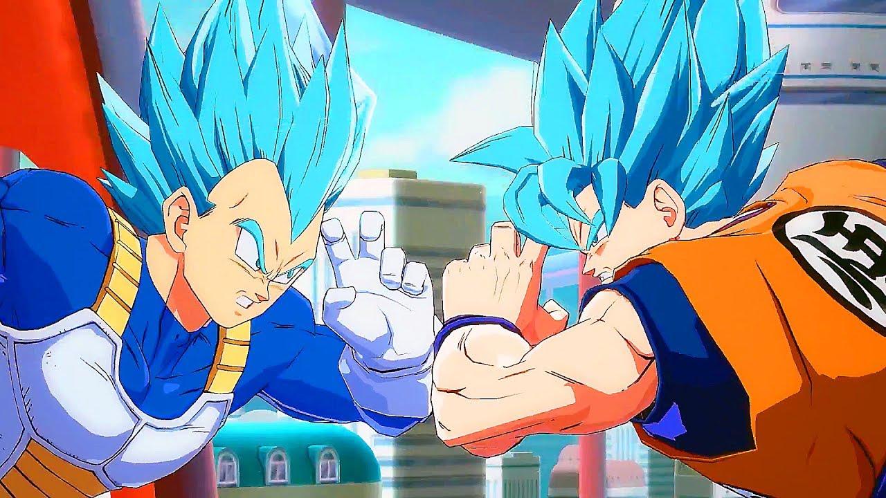 Plantilla de personajes en Dragon Ball FighterZ – Overfile Games